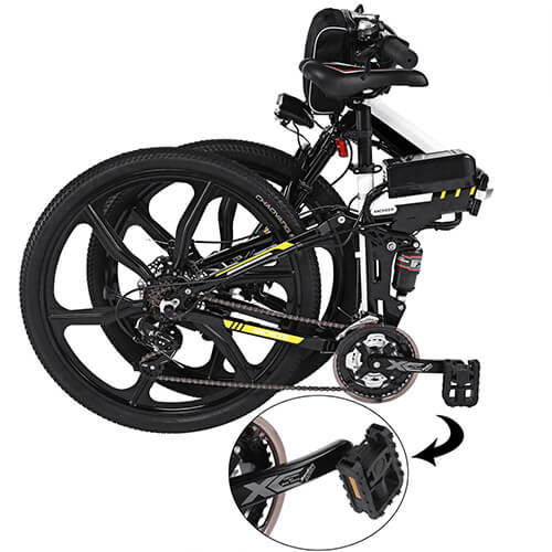 Ancheer Foldable Electric Mountain Bike