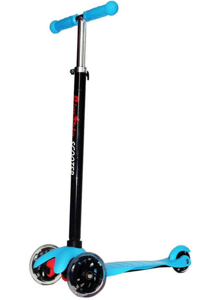 Rimable Kids 3 Wheel Adjustable Height Mini Scooter
