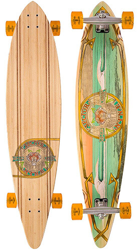 Sector 9 Bamboo G-Land 9.75x44 Complete Longboard Skateboard