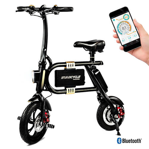 Swagtron SwagCycle Electric Folding Bike