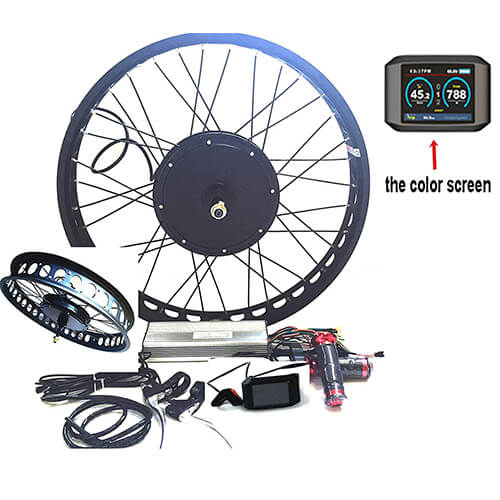 thebikemotor Rear Wheel Conversion Kit