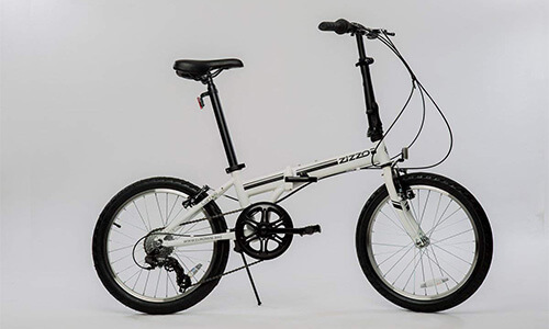EuroMini Zizzo Campo Folding Bike- Best Cheap Folding Bike