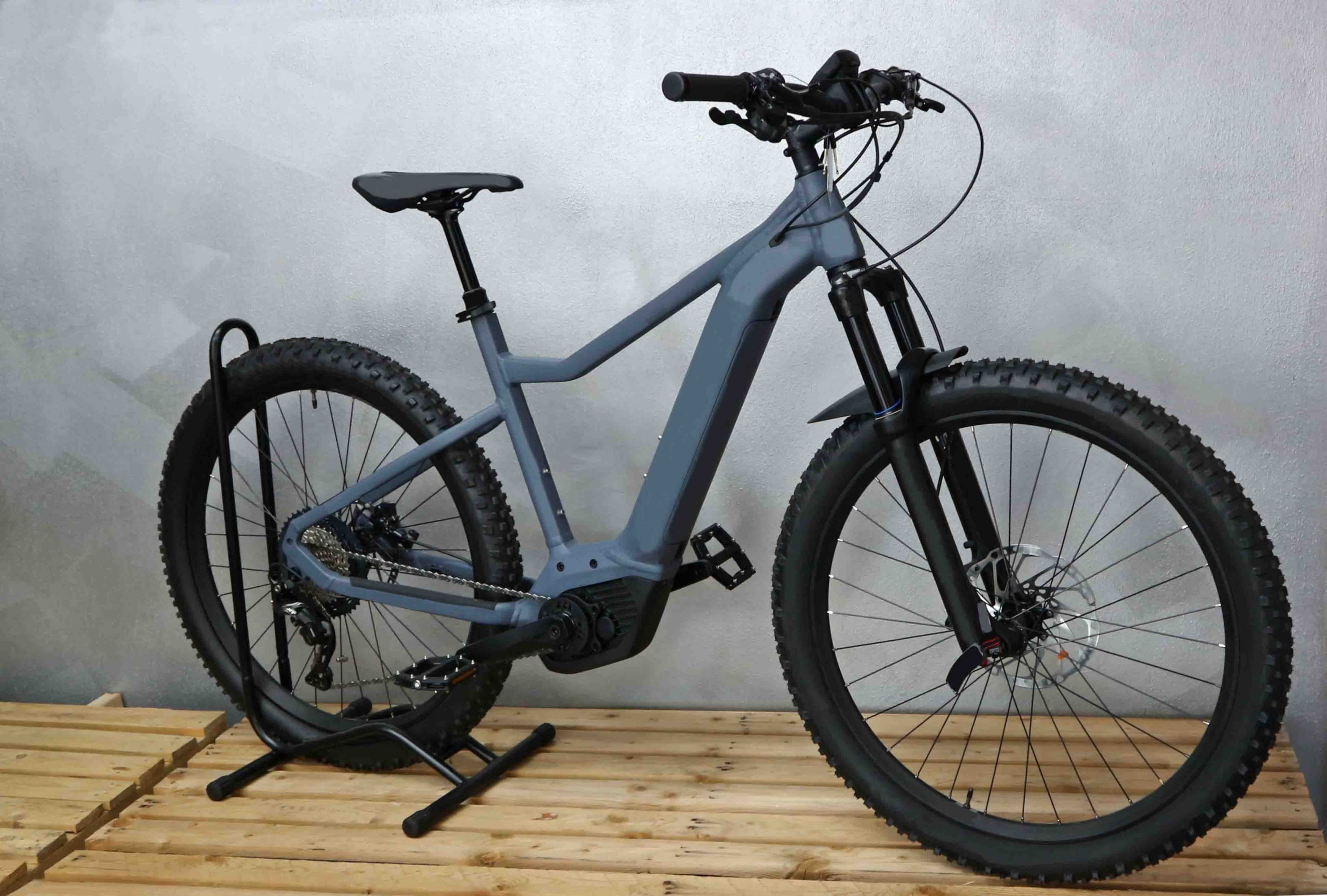 Electric bike with integrated battery